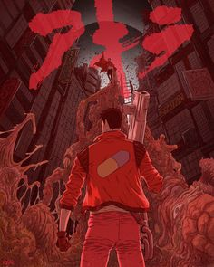 Wanted to draw an Akira tribute for a long time. My favorite manga (one of the few comicbooks that I have read multiple times) and anime movie of all time. I remember when I first watch it that I had nightmares for weeks but it stuck to my brain forever. Katsuhiro Otomo, Best Movie Posters, Alternative Movie Posters, Art Club, Poster On, Manga, Comic Artist, Looks Cool, Community Art