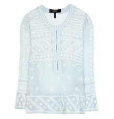 Isabel Marant LORIA SILK BLOUSE- Check out this great find on CBuy.tv - Celebrity Fashion - See it, buy it!