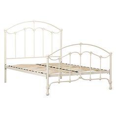 daisy bed frame cream double