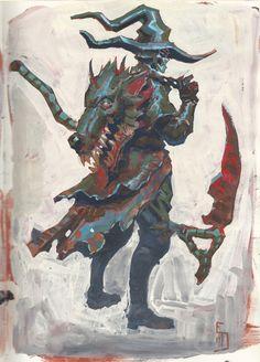 ArtStation - go out and kill a few beasts, Edward Delandre
