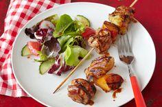Serve this Pork au Poivre with Vidalia Onions for a scrumptious entrée. Experience the rich, succulent flavor of Pork au Poivre with Vidalia Onions today. Kabob Recipes, Grilling Recipes, Pork Recipes, Cooking Recipes, Recipies, Pork Meals, Healthy Cooking, Healthy Eating, Healthy Recipes
