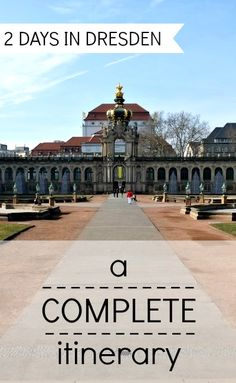 what to do in Dresden in 2 days