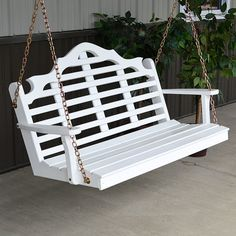Yellow Pine Marlboro 4ft. Outdoor Porch Swing