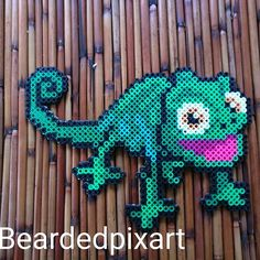 Pascal - Tangled perler beads by beardedpixart