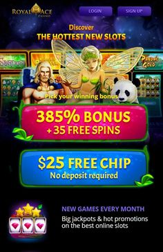 $25 Free Chip No Deposit Bonus is a great way to get started with Royal Ace Casino. If you're new, you'll need to register a new account, verify it and log in. Royal Ace Casino Promo: 25 Free Chips or 35 Free Spins - Play at Royal Aces casino with 25 Free Chips Now! Royal Ace Casino no Deposit Bonus Codes for you. If your last transaction was a free chip then please make a deposit or you will not be able to cash out bonus. We have exclusive no deposit bonus code a total of $25 in free chips. Best Online Casino, Online Casino Bonus, Best Casino, Free Slot Games, Free Slots, Money Games, Verify, News Online, News Games