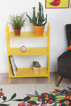 Yellow Tulip Shelf at Urban Outfitters