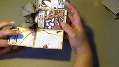 Toilet Paper Roll Mini Scrapbook Album ~ My Very First