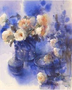 Yuko Nagayama, #watercolor