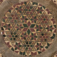 El mosaico Cosmati del Altar Mayor de la Abadía de Westminster.Matemolivares