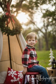 Christmas Mini Session | New Braunfels Mini Session Photographer