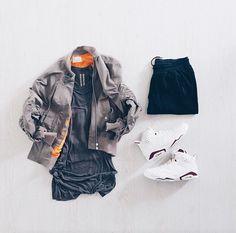 Street wear outfit