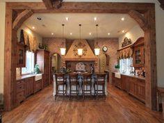 Interior design for rustic home