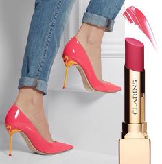 [ PHOTO OF THE DAY ] Sophia Webster shoes & Clarins lipstick. - Perfect Couple  -