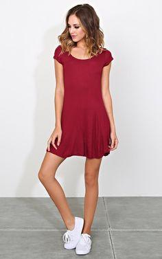 Georgia Rib Knit Shirt Dress - New Arrivals