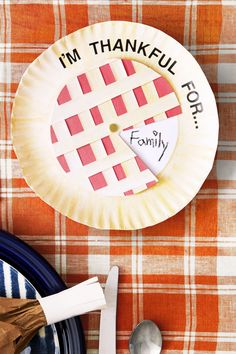 Thanksgiving Crafts for Adults - Gratitude Pie