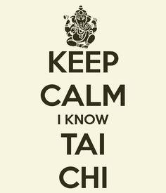 Keep Calm do Tai Chi