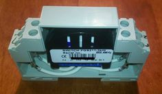 Z-Wave DIN Rail Mount using CamdenBoss MED Module Box. Holds Fibaro Roller Shutter, Switch, Dimmer and RGBW controllers.