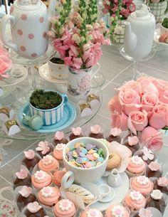 vintage tea party myas 5th bday party idea, thinking far ahead haha