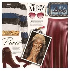 """""""paris..."""" by ghdesigns-official ❤ liked on Polyvore featuring STELLA McCARTNEY, WithChic, Sonia Rykiel, Chloé, Chanel and fallgetaway"""