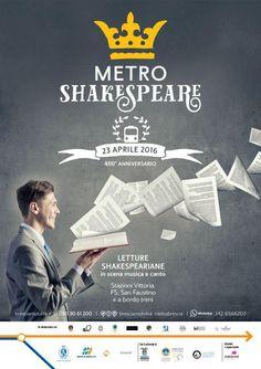 Brescia, Metropolitana, 400° anniversario dalla morte di Shakespeare, MetroShakespeare