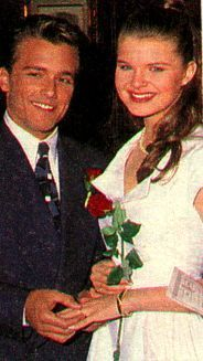 Victoria Newman McNeil & Ryan McNeil on Young and the Restless... (ha back in the day.-bc )