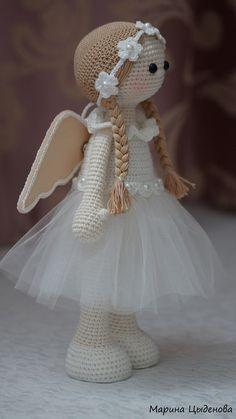 Amazing and very Cute Crochet Amigurumi Pattern Ideas for 2019 Part amigurumi pattern free; Amigurumi Doll, Amigurumi Patterns, Doll Patterns, Pattern Ideas, Knitted Dolls, Crochet Dolls, Cute Crochet, Crochet Baby, Crochet Angels