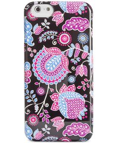 d4732cc3d8 Vera Bradley Snap On iPhone 6 Case   Reviews - Handbags   Accessories -  Macy s
