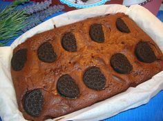 Nuvola Glacé: Brownie de chocolate con galletas oreo