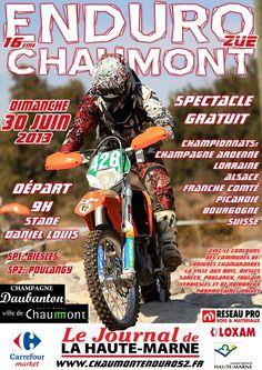 Enduro Chaumont. Le dimanche 30 juin 2013 à Chaumont.