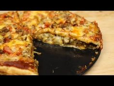 Double Decker Mexican Pizza – Food Dolls