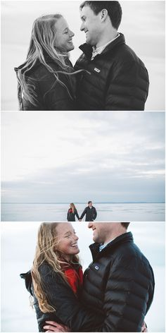 wisconsin winter engagement   Audre Rae Photography