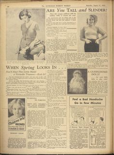 Issue: 11 Aug 1934 - The Australian Women's Wee...