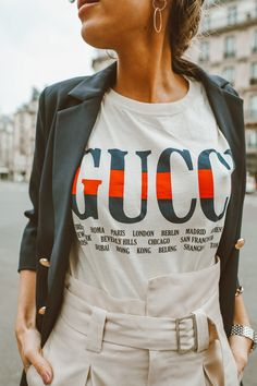 Two Ways to Wear My Favorite Gucci Tee