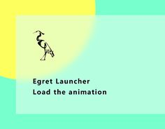 """Check out new work on my @Behance portfolio: """"Egret Launcher_loading"""" http://be.net/gallery/46099503/Egret-Launcher_loading"""
