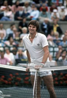 Jimmy Connors (USA) loses to Manuel Orantes (Spain) - 1975 US Open Men's Singles Final. Orantes def. Connors 6-4, 6-3, 6-3