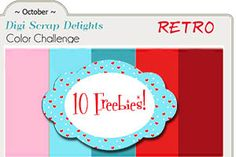 Lots of Premium Digital Scrapbook Freebies #Projectlife cards #downloads #Free