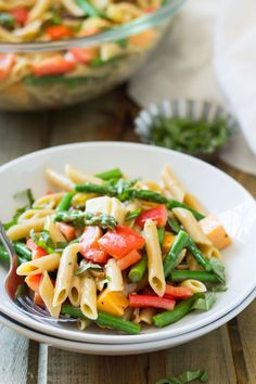 awesome Penne und Spargel Pasta-Salat
