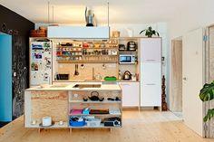 Een speelse keuken inrichting   Huis-inrichten.com