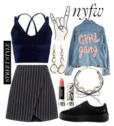 """""""N° #178"""" by nguyethang on Polyvore featuring New Look, Miss Selfridge, Puma, BaubleBar, Anna Sui, High Heels Suicide, Ippolita and Urban Outfitters"""