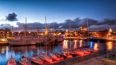 La Rochelle, Bassin des Grands Yachts depuis l'Aquarium (HDR) by raphael.chekroun, via Flickr