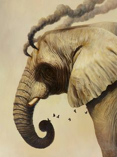 Surreal Animal Paintings by Martin Wittfooth | Inspiration Grid | Design Inspiration