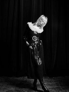 Grace Hartzel & Lili Sumner for Saint Laurent Fall/Winter 16/17   The Fashionography