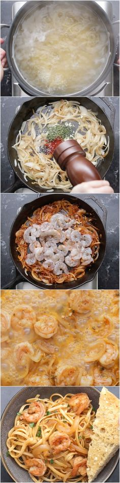 Lemon Paprika Shrimp Pasta