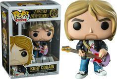 Aw this is so cute I want one so bad Funk Pop, Funko Pop Figures, Vinyl Figures, Nirvana, Funko Pop Dolls, Pop Musicians, Mtv Unplugged, Pop Toys, Alphabet