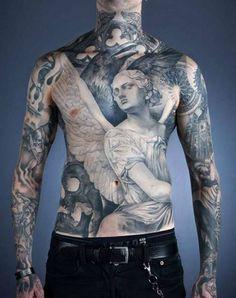 #angel #tattoo #angeltattoo