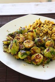 collecting memories: Pan Roasted Brussels Sprouts