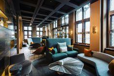 The Fourth, Tafelrond Hotel Modern Sofa, Modern Decor, Interior Decorating, Interior Design, Luxury Decor, Cafe Restaurant, Dining Room Chairs, Luxury Living, Armchair