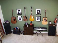 music room | ... pictures of your creative space/music room - Page 4 - MyLesPaul.com