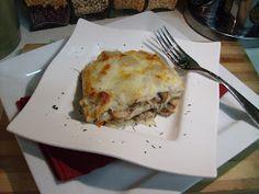 The Open Pantry: Roasted Garlic and Mushroom Lasagna
