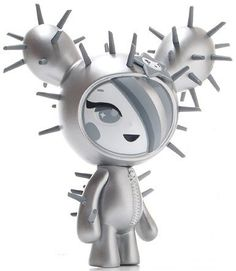 Strangeco Tokidoki SDCC 2008 Exclusive Cactus Friends Platinum SANDy